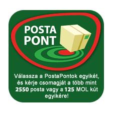 PostaPont (kérjük az átvevő PostaPont címét tüntesse fel a megrendeléskor)